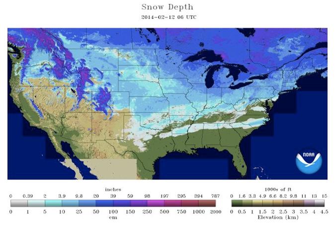 2014 2015 Winter Forecast For Atlanta Ga | Share The Knownledge