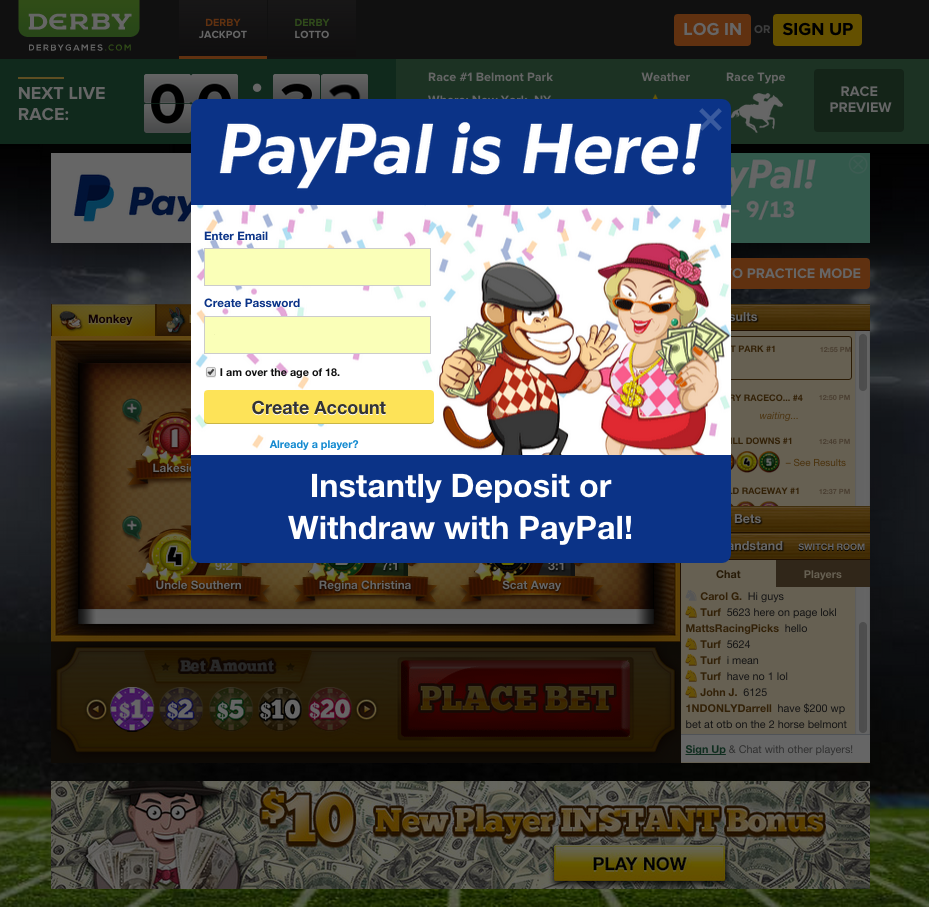 casino online paypal europe entertainment ltd