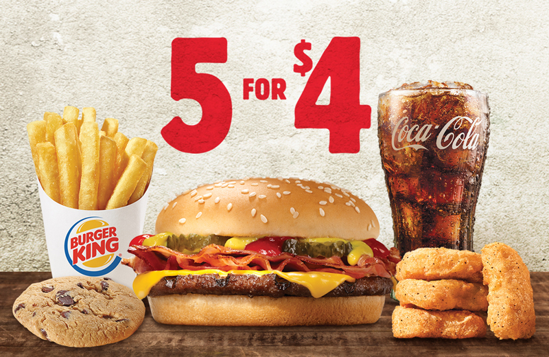 Today fm meal deals