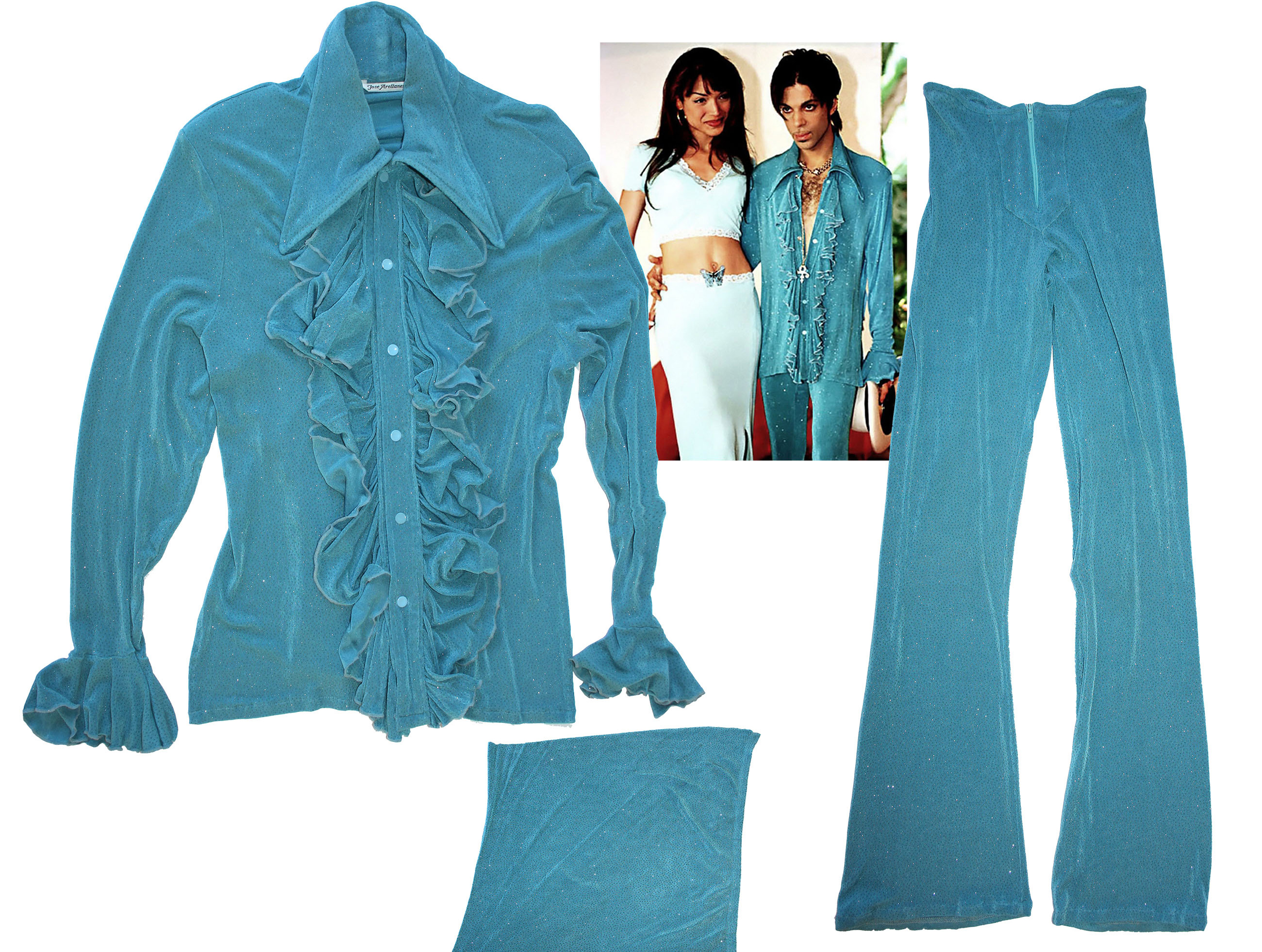 Private collection of prince memorabilia for sale for Clothing materials for sale