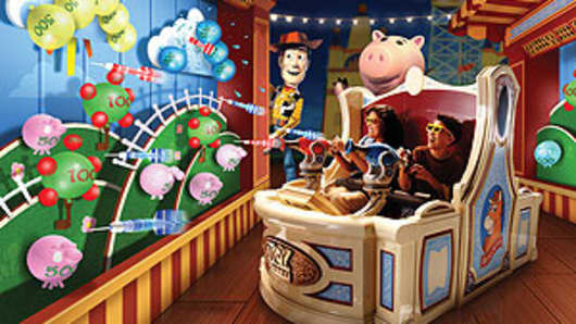 Toy Story Ride