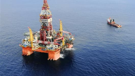 oil drilling in the south China Seas