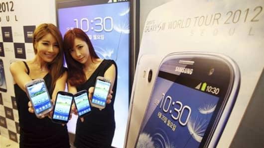Samsung Electronics' smartphone Galaxy S III