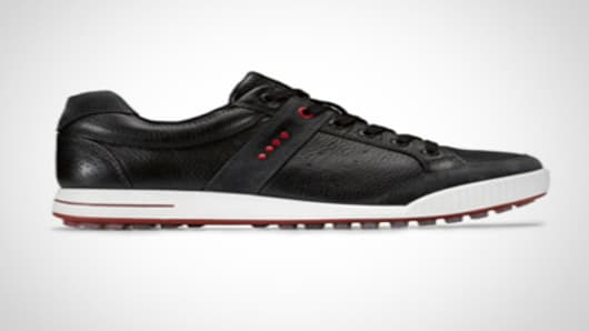 ECCO 2010 Golf Street Premier Moonless Black Chili Shoe.