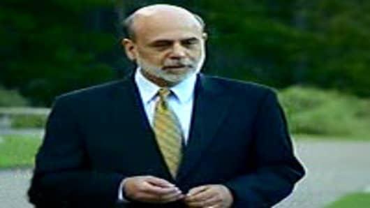 Ben Bernanke at Jackson Hole, Wyoming.