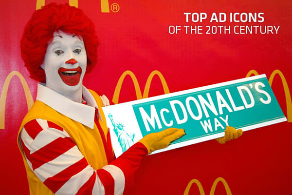 Top Ad Icons of the 20th Century