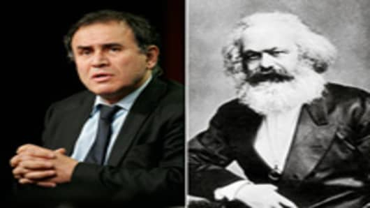 Nouriel Roubini & Karl Marx