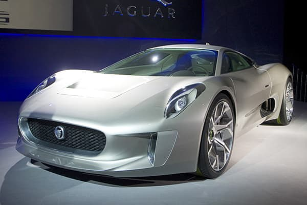 "The Hybrid Supercar by Jaguar debuted in 2010 at the Paris Motor Show. After partnering with the British Formula One motor racing team and Williams Grand Prix Engineering Limited, Jaguar announced that it would build 250 units of the car, with an average price of $1.1 million., the car will feature ""performance on a par with the fastest production cars on the market, while adopting cutting-edge technology that offers remarkably economical running."" It's expected to exceed 200 miles per hour whil"