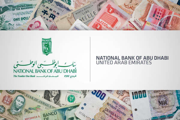 Safest Bank: National Bank of Abu Dhabi (#46 overall) The second largest bank in the United Arab Emirates, the National Bank of Abu Dhabi is also the safest, according to Global Finance. With total assets of $67 billion and a market capitalization of $8.6 billion as of June 2011, the bank is also over 70% owned by the government with foreign ownership limited to 25% of equity. The bank is listed on the Abu Dhabi Securities Exchange (ADX) and is currently rated Aa3 by Moody's, A+ by S&P and AA- b
