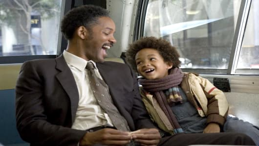The Pursuit of Happyness - 2006 Will Smith (left) and Jaden Christopher Syre Smith