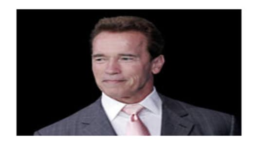 Gov. Schwarzenegger of Californa