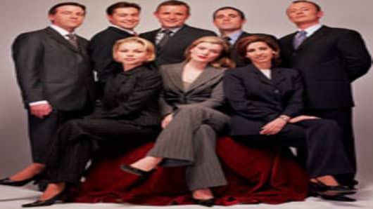 Giorgio Armani new look for CNBC Europe anchors