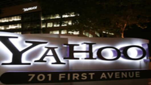 Yahoo!'s headquarters in California.