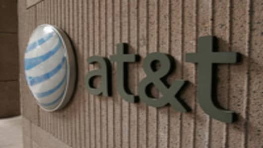 AT&T Communications corporate offices at 175 East Houston St. in San Antonio.