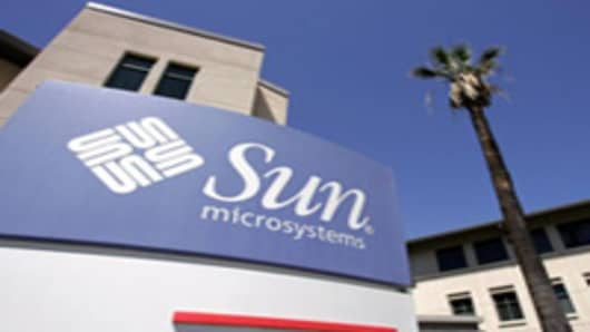 Sun Microsystems's headquarters in Santa Clara,