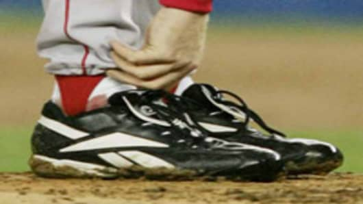 Curt Schilling's Sock