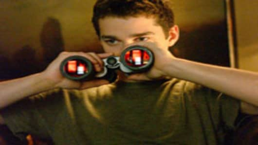 "This photo provided by Paramount Pictures shows Shia LeBeouf in a scene from ""Disturbia."" (AP Photo/Paramount Pictures/Suzanne Tenner)"