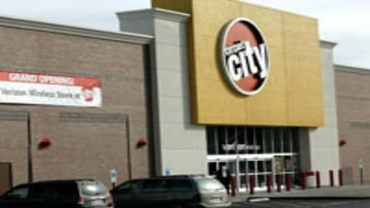 A Circuit City store in Richmond, Virginia.