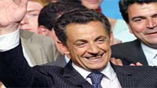 Nicolas Sarkozy, President-elect France