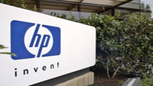 Hewlett-Packard's headquarters in Palo Alto, California.