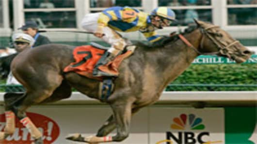 """Street Sense"", Kentucky Derby winner"
