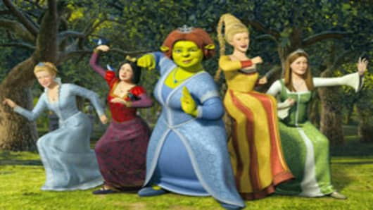 Shrek Princesses