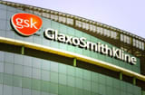 The company logo of GlaxoSmithKline, is seen on the headquarters building in London, Wednesday May 10, 2006. GlaxoSmithKline PLC said Wednesday it has been granted a High Court injunction against animal rights activists who sent threats to the drugmaker&#039;s shareholders, barring them from sending more letters or revealing private information about the investors. (AP Photo/Alastair Grant)