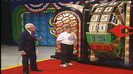 "Bob Barker in ""The Price is Right"""