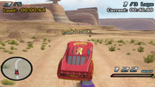 Wii Cars Video Game