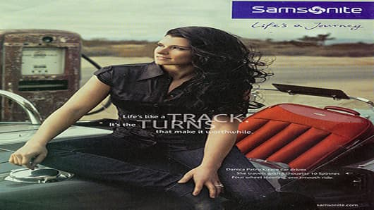 Samsonite Advertisement