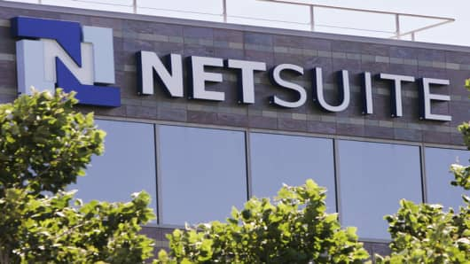 NetSuite's headquarters in San Mateo, California.