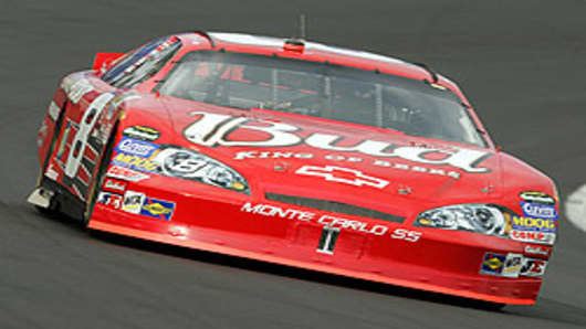 Dale Earnhardt Jr.'s Budweiser Racecar