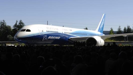 Boeing's Dreamliner 787.