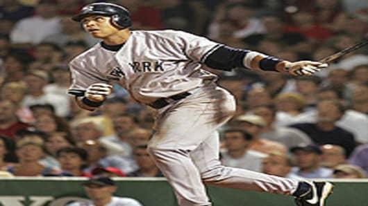 New York Yankees Alex Rodriguez