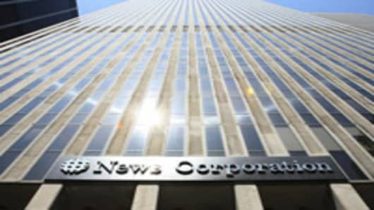 News Corp.'s headquarters in New York.