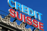 sCredit Suisse building sign