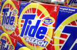 Boxes of Procter & Gamble's Tide with Bleach.