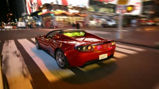 Tesla Roadster - Electric Sports Car