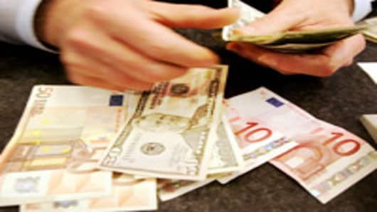 Exchanging Dollars and Euros