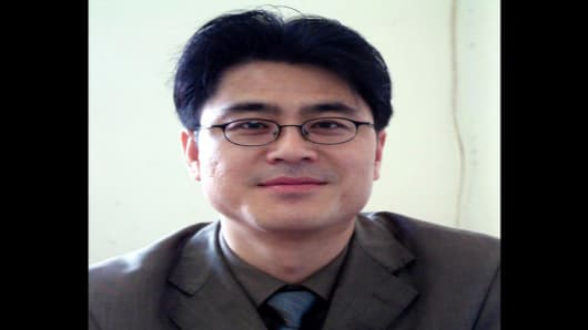 This is an undated photo, released Tuesday, Nov. 22, 2005 by the Committee to Protect Journalists (CPJ), of Shi Tao, a freelance journalist for Internet publications and an editor for the Chinese business newspaper Dangdai Shang Bao. The CPJ honored Shi, now serving a 10-year prison sentence in China for allegedly leaking state secrets abroad, at their International Press Freedom Award dinner Tuesday, Nov. 22, 2005 in New York. (AP Photo/Committee to Protect Journalists)