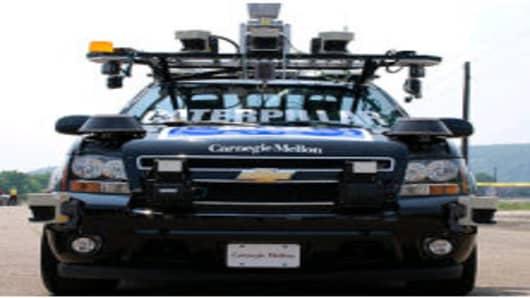 Carnegie Mellon's Robocar