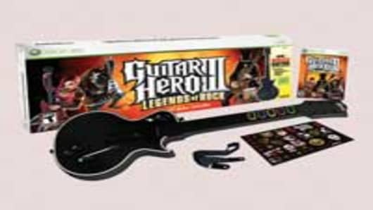 Guitar Hero III video game set by Activision Inc.