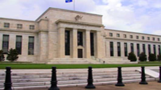 The Federal Reserve headquarters in