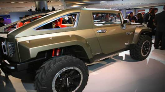 Hummer HX Unveiled