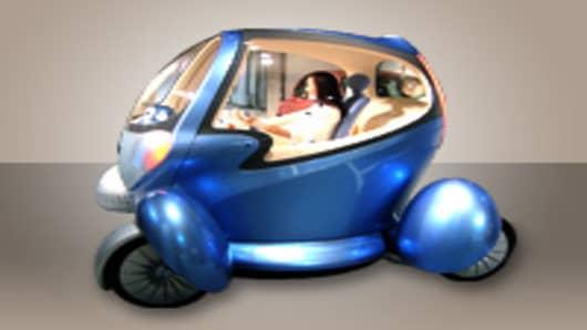 Nissan Pivo 2 - electric car