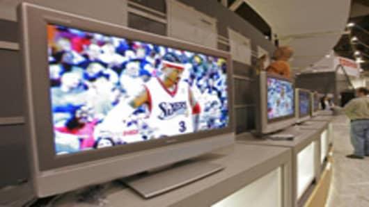 Toshiba flat-panel televisions.