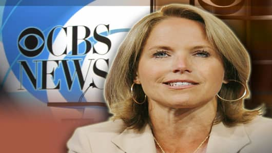 "Katie Couric, CBS News anchor and correspondent, answers questions from members of the press about the upcoming season of the ""CBS Evening News with Katie Couric"" and ""60 Minutes"" during a press conference in Pasadena, Calif., Sunday July 16, 2006. (AP Photo/Lucas Jackson)"