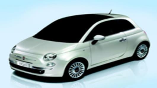 Fiat's 2007 Nuova 500 car.