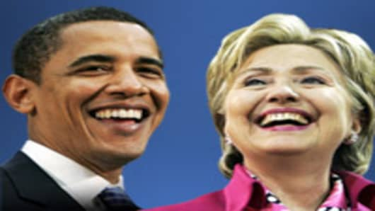President Barack Obama and Secretary of State Hillary Clinton