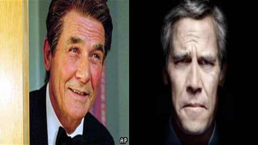 James Brolin as Ronald Reagan, Josh Brolin as George W. Bush.
